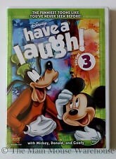 Classic Disney Mickey Donald Goofy Pluto Cartoons Have a Laugh Volume 3 on DVD