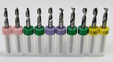10 Piece Variety Carbide Drill Bit Set -R4 -