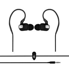 Urbanz STRIVE Running Sports Earhook Headphones Earphones iPod iPhone - Black