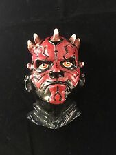 NEW - Genuine Licensed STAR WARS 3D Darth Maul Character Metal Belt Buckle
