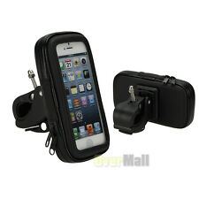 Waterproof Motorcycle Bike Bicycle Handlebar Mount Holder Case For CellPhone GPS