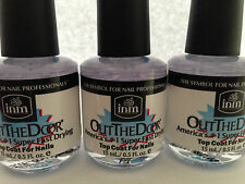 INM Out The Door Super Fast Drying Top Coat 15ml Bottle