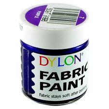 25ml JARS DYLON FABRIC CLOTHES TEXTILE TSHIRT PERMANENT COLOUR PAINTS SOFT DYES