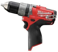"Milwaukee M12V Fuel 2404-20 Cordless Brushless Hammer Drill/Driver 1/2"" 2-Speed"