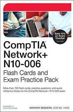 Comptia Network+ N10-006 Flash Cards and Exam Practice Pack by Anthony Sequeira…