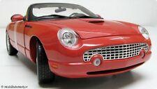 James Bond 007 Ford thunderbird en rouge 1:18