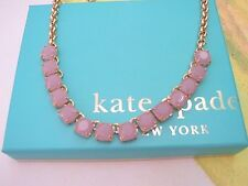 Kate Spade New York Squared Away Lilac Necklace