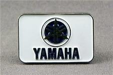 Metal Enamel Pin Badge Brooch Yamaha Logo Bike Biker Rider Motorbike Blue