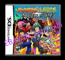 Nintendo Mario&Luigi:Partners in Time Version Game Card for 3DS Lite NDS DSI