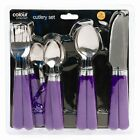 16 PIECE STYLISH KITCHEN STAINLESS STEEL CUTLERY SET TABLEWARE DINING UTENSILS