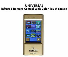 ULTIMATE UNIVERSAL IR Remote Control With Full Color Touch Screen.
