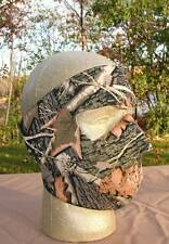 Tree Leaf Tree Camo Neoprene Full Face Mask Motorcycle Capsmith Free Shipping
