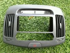 2007-2010 HYUNDAI ELANTRA CENTER DASH RADIO BEZLE TRIM W/ CLOCK VENT SEE PHOTO