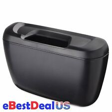Auto Car Environment Cargo Trash Can Garbage Storage Box Container Black