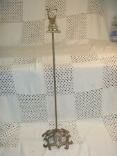 "Vintage / Antique Cast Iron Hat Stand Ornate Victorian 21"" tall"