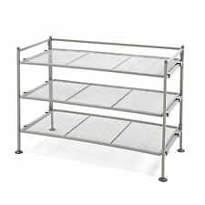 Iron Shoe Utility Rack, 3-Tier, Seville Classics SHE99905, New, Free Shipping