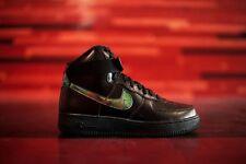 Nike Air Force 1 High '07 LV8 SZ 9.5 Iridescent Black Metallic Gold 806403-002