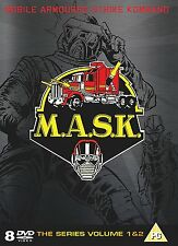 M.A.S.K. COMPLETE COLLECTION   8 DISCS    UK DVD     NEW/SEALED