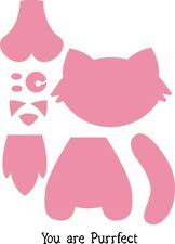 Marianne Design COLLECTABLES Die Cut  Emboss Stencil  CAT  COL1353