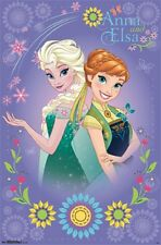 22x34 Frozen Anna and Elsa Forever Poster Disney