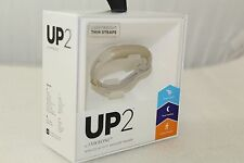 Brand NEW Jawbone UP2 Lightweight Thin Strap Fitness Tracker - Oat