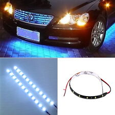 30cm 12V 15 LEDs Car Auto Motorcycle Waterproof Strip Lamp Flexible Light 0+