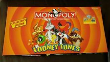 2003 Monopoly Looney Tunes Collector's Edition Pewter Tokens Complete board game