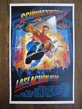 The Last Action Hero -  Movie Poster