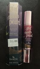 Benefit Girl Meets Pearl- Liquid Pearl for Face Full Size 0.4 Oz In Box