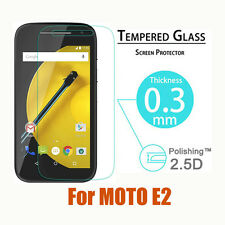 9H Premium Real Tempered Glass Screen Protector for Motorola Moto E 2nd Gen 4.5""