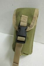 Tactical Tailor Flashbang Smoke Pouch Tan Old Style Malice Clips Unissued