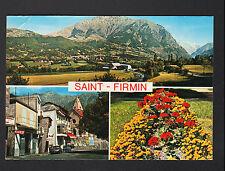 SAINT-FIRMIN (05) VILLAS , CITROEN DS à la BOUCHERIE & BUREAU de TABAC en 1979