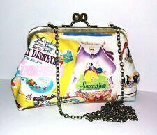 DISNEY POSTERS SNOW WHITE CINDERELLA ALICE IN WONDERLAND DALMATIONS EVE HANDBAG