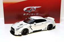 1:18 GT Spirit NISSAN GTR r35 LB PERFORMANCE WHITE NEW in Premium-MODELCARS