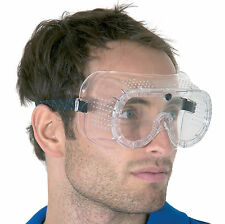 Box of 20 Direct Vent Safety Goggles Certified to EN166 1B