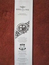 7/1992 PUB MONTRE BREITLING WATCHES SUISSE OLD NAVITIMER CHRONOGRAPH ORIGINAL AD