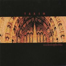 CD Taxim Ecclesiophobia Industrial Music 2006 Musica Electronica Dance