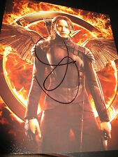 JENNIFER LAWRENCE SIGNED AUTOGRAPH 8x10 HUNGER GAMES CATCHING FIRE PROMO PROOF I