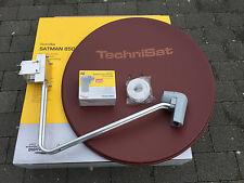 original TechniSat SATMAN 850 Plus,6485/8880,mit UNYSAT Quatro-LNB ziegelrot,neu