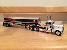 DCP Custom 1:64 TEXACO Peterbilt 389 Fuel Oil Gas Tanker Trailer Farm!
