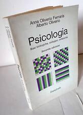Ferraris/Oliverio,PSICOLOGIA.BASI BIOLOGICHE,SVILUPPO,AMBIENTE,1980 Zanichelli