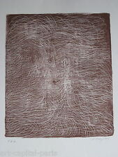 TOBEY MARK LITHOGRAPHIE 1970 SIGNÉE AU CRAYON EDA HANDSIGNED NUMB EDA LITHOGRAPH