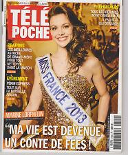 Marine Lorphelin- Miss France 2013 .Pékin Express .  Télépoche 03/2013.