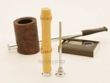 Tsuge Bamboo Wood Pipe Tamper. 3-in-1 Cleaning Tool & Accessories. Made in Japan