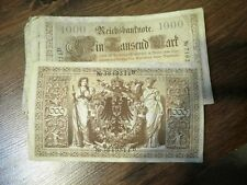 CyP 1 Billete 1000 Marcos Alemania 1910