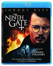 THE NINTH GATE (2000 Johnny Depp)  - Blu Ray - Sealed Region free