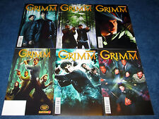 GRIMM #0 1 2 3 4 5 photo cover NBC TV David Giuntoli DYNAMITE COMIC 2013 lot 6