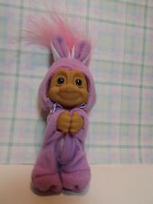 "EASTER CLIP ON BUNNY - 3"" Russ Troll Doll - NEW - Rare - LAST ONES IN THIS COLOR"