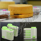 5 Layers Kitchen DIY Cake Bread Cutter Leveler Slicer Cutting Fixator Tools J