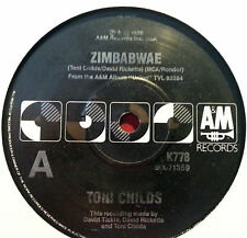 TONI CHILDS 45RPM SINGLE ZIMBABWAE / LET THE RAIN COME DOWN MADE IN AUSTRALIA